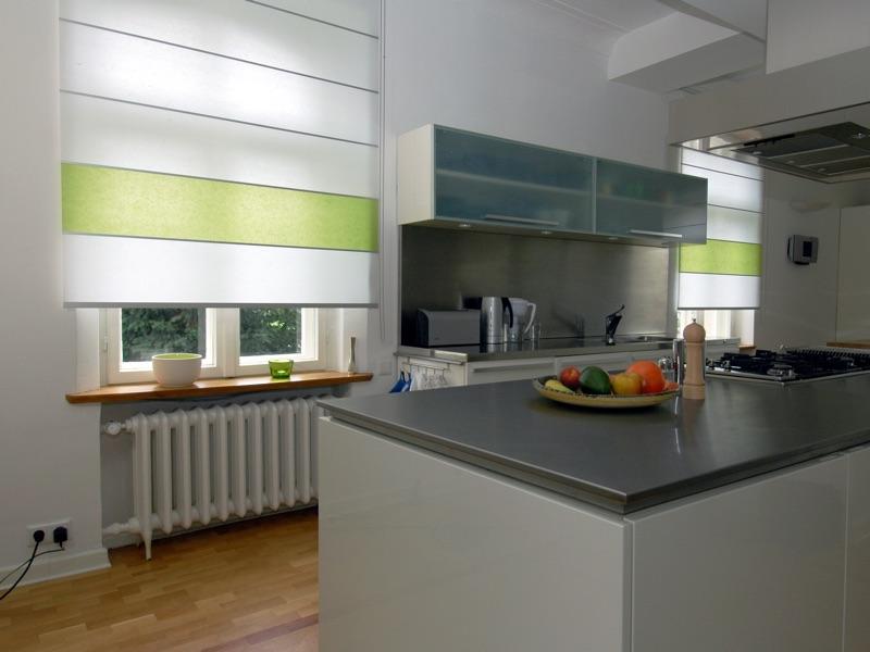 Wood washi flow i exklusive deko und sonnenschutz for Rollo küche
